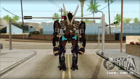 Дрифт (Transformers: Rise of the Dark Faísca) para GTA San Andreas segunda tela