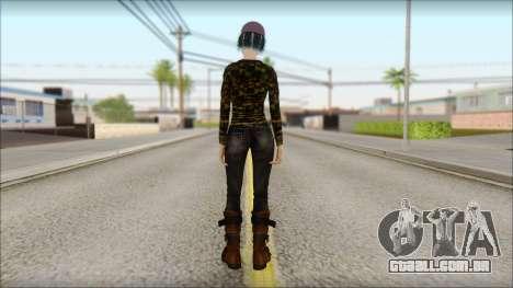 Adultos Clementine para GTA San Andreas segunda tela