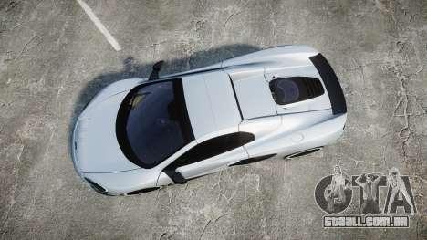 McLaren 650S Spider 2014 [EPM] KUMHO para GTA 4 vista direita