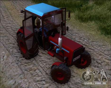 MTZ-80 para GTA San Andreas vista inferior