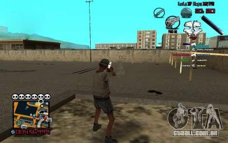 C-HUD by SampHack v.13 para GTA San Andreas segunda tela