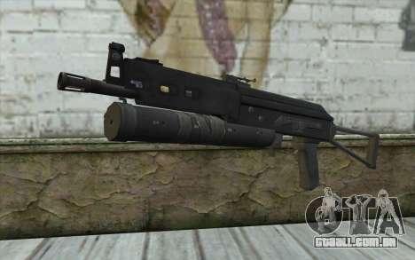 PP-19 Bizon (Battlefield 2) para GTA San Andreas