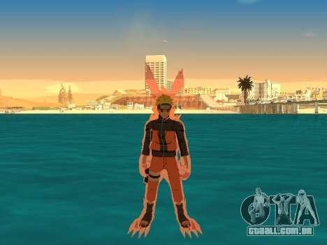 A Kyubi Transformação para GTA San Andreas segunda tela