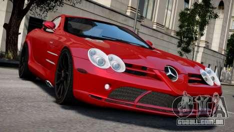 Mercedes SLR McLaren para GTA 4 vista direita