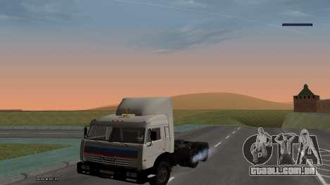 KamAZ-54115 para GTA San Andreas vista direita
