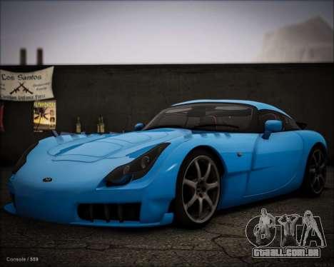 TVR Sagaris 2005 para GTA San Andreas