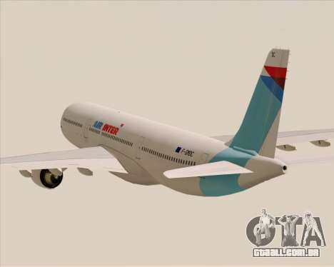 Airbus A330-300 Air Inter para GTA San Andreas