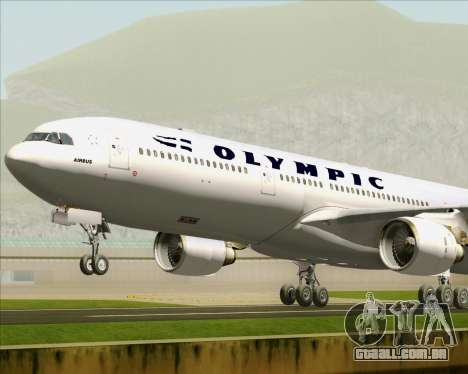 Airbus A330-300 Olympic Airlines para o motor de GTA San Andreas