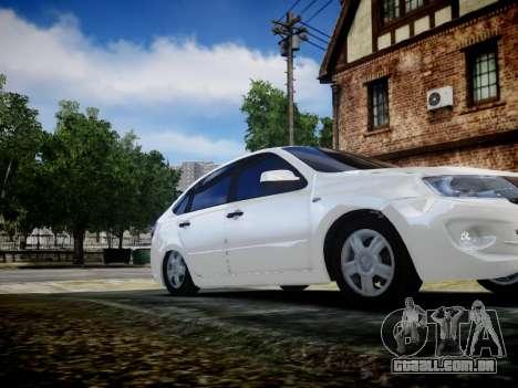 Lada Granta Liftback para GTA 4 vista de volta