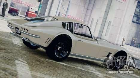 GTA 5 Coquette Classic para GTA 4 esquerda vista