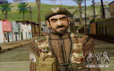 Soldados MEK (Battlefield 2) Pele 5 para GTA San Andreas terceira tela