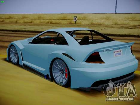 Benfeitor Feltzer из GTA 5 para GTA San Andreas esquerda vista