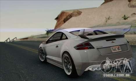 Maibatsu Penumbra 1.0 (HQLM) para GTA San Andreas vista traseira