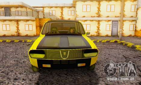 Dacia 1300 Old School para GTA San Andreas vista direita
