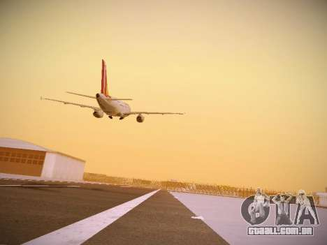 Airbus A319-132 Germanwings para vista lateral GTA San Andreas
