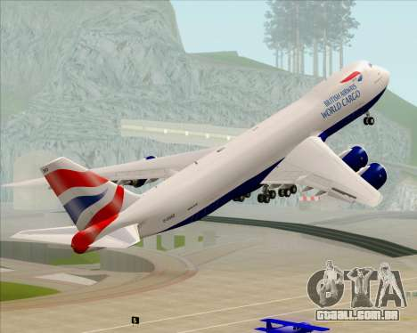 Boeing 747-8 Cargo British Airways World Cargo para GTA San Andreas