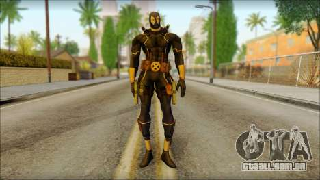 Xmen Alt Deadpool The Game Cable para GTA San Andreas