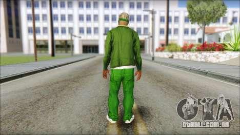 New CJ v3 para GTA San Andreas segunda tela