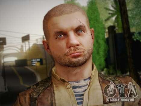 Paulo (Metro Last Light) para GTA San Andreas terceira tela