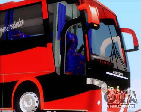 Busscar Elegance 360 C.R.F Flamengo para GTA San Andreas vista superior