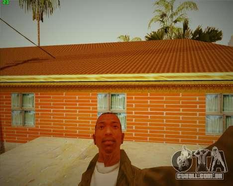 Atualizado casa do CJ para GTA San Andreas terceira tela
