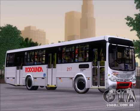 Marcopolo Torino G7 2007 - Volksbus 17-230 EOD para GTA San Andreas vista interior