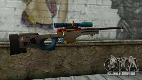 Sniper Rifle from PointBlank v4 para GTA San Andreas segunda tela