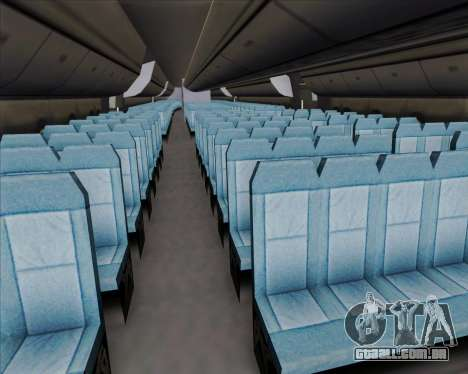 Boeing 747-8 Intercontinental United Airlines para as rodas de GTA San Andreas