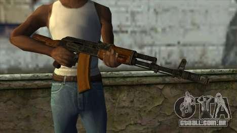 TheCrazyGamer AK74 para GTA San Andreas terceira tela