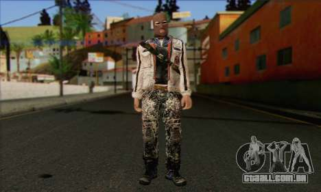 Arctic Avenger (Tactical Intervention) v2 para GTA San Andreas