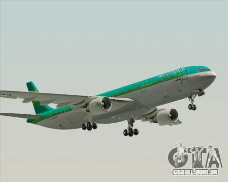 Airbus A330-300 Aer Lingus para o motor de GTA San Andreas