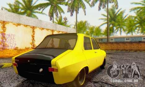 Dacia 1300 Old School para GTA San Andreas traseira esquerda vista