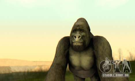 Gorilla (Mammal) para GTA San Andreas