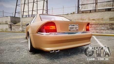 Schafter AMG para GTA 4 traseira esquerda vista
