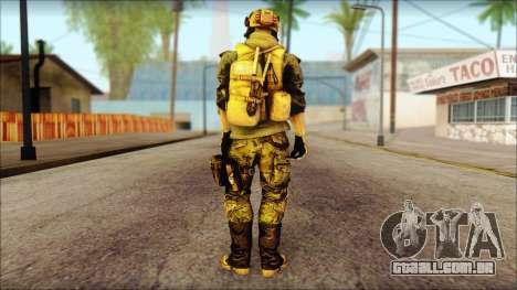 Support from BF4 para GTA San Andreas segunda tela