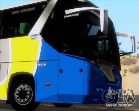 Comil Campione Ulua Scania K420 para vista lateral GTA San Andreas