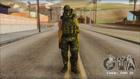 Claude Resurrection Skin from COD 5 v2 para GTA San Andreas