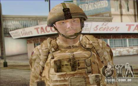 Soldados britânicos (ArmA II: BAF) v2 para GTA San Andreas terceira tela
