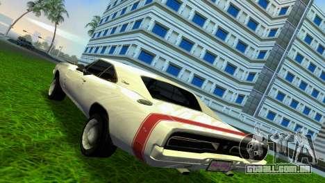 Dodge Charger 1967 para GTA Vice City vista direita