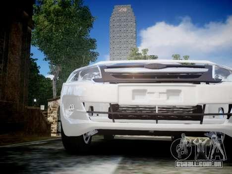 Lada Granta Liftback para GTA 4 vista interior