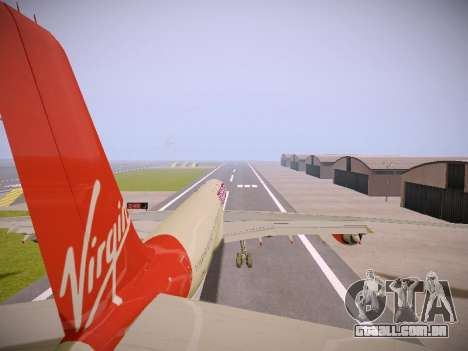 Airbus A340-600 Virgin Atlantic New Livery para GTA San Andreas