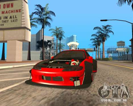 Slivia Red Planet para GTA San Andreas
