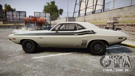 Dodge Challenger 1971 v2.2 PJ1 para GTA 4 esquerda vista