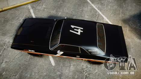 Dodge Challenger 1971 v2.2 PJ9 para GTA 4 vista direita
