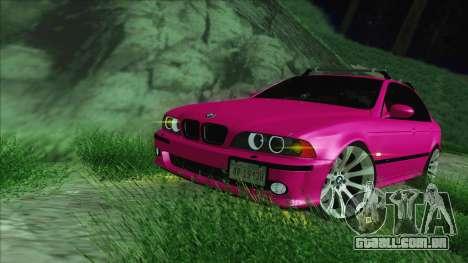 BMW M5 E39 2003 Stance para GTA San Andreas vista interior