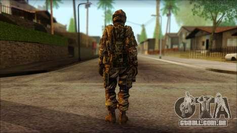 Soldados da UE (AVA) v3 para GTA San Andreas segunda tela