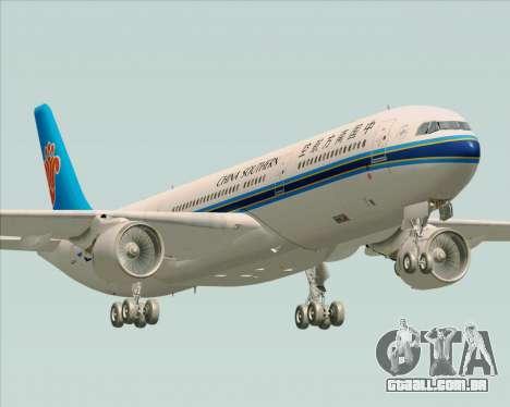 Airbus A330-300 China Southern Airlines para GTA San Andreas