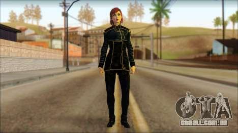 Mass Effect Anna Skin v1 para GTA San Andreas