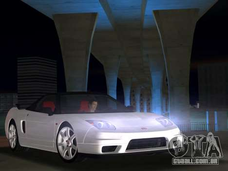 Honda NSX-R para GTA Vice City vista direita