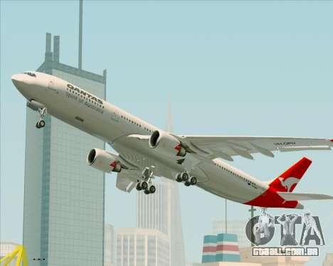 Airbus A330-300 Qantas para o motor de GTA San Andreas